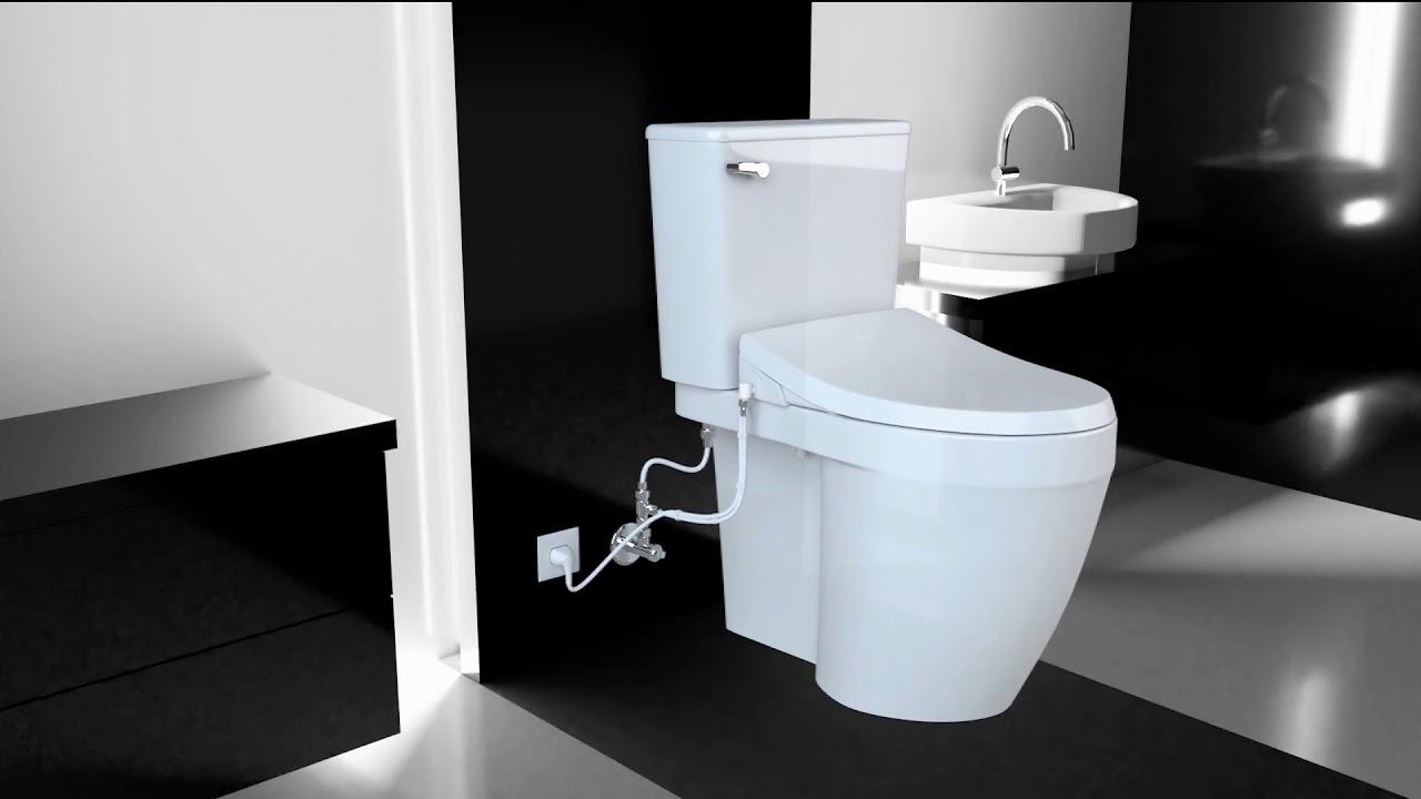 A8 Serenity Advanced Bidet Toilet Seat By Bio Bidet