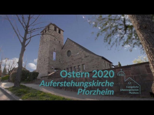 Ostern 2020 Johannesgemeinde Pforzheim mit Pfarrerin Heike Springhart