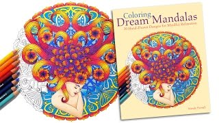 Coloring Dream Mandalas Book Preview by Wendy Piersall