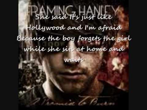 The Promise Lyrics by Framing Hanley