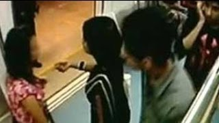 CCTV suggests sexual harassment of girl on Bangalore metro thumbnail