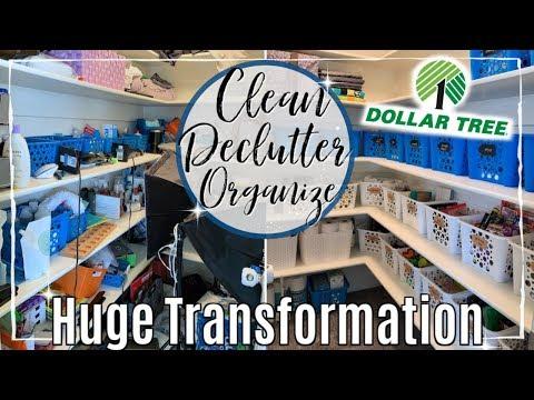 ULTIMATE DECLUTTER ORGANIZE & SPEED CLEAN WITH ME 2019 | LINEN CLOSET DOLLAR TREE ORGANIZATION IDEAS