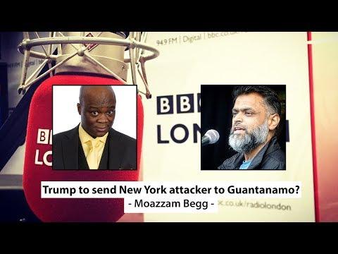Moazzam Begg on Trump sending New York attacker to Guantanamo - BBC London Radio