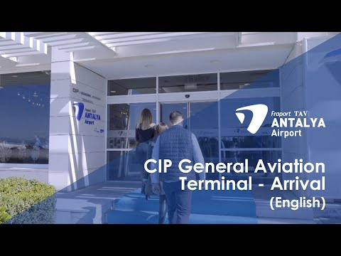 CIP Services/General Aviation Terminal - Arrival I English