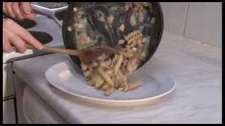 Ham And Mushroom Pasta