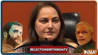 Lok Sabha Elections 2019: Jaya Prada Visits Ganesh Temple In Rampur