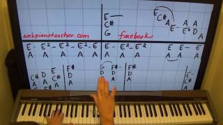 Piano Lesson Lovin Touchin Squeezin By Ear