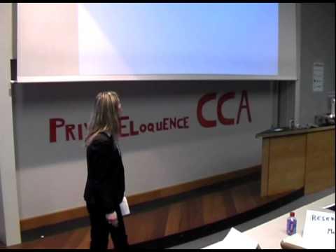 Prix d'éloquence CCA - Marie-Anne Polge