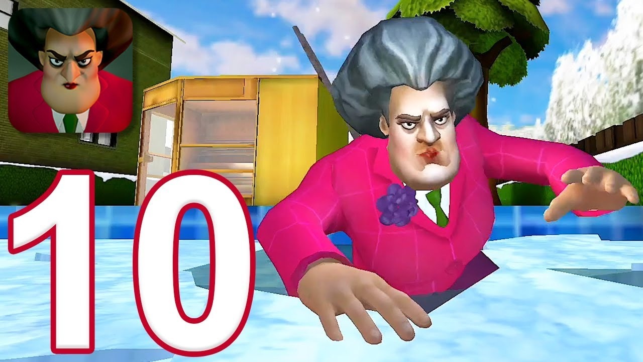 Download Scary Teacher 3D - Gameplay Walkthrough Part 10 - New Christmas Levels (iOS)