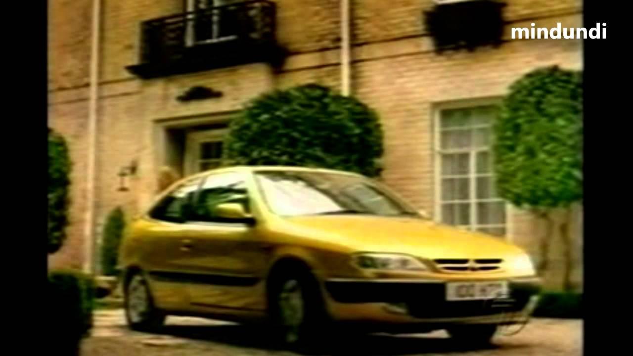 Citroen Xsara Coupe Vintage Ad Claudia Schiffer