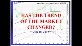 HAS THE TREND OF THE MARKET CHANGED     1 20 2019