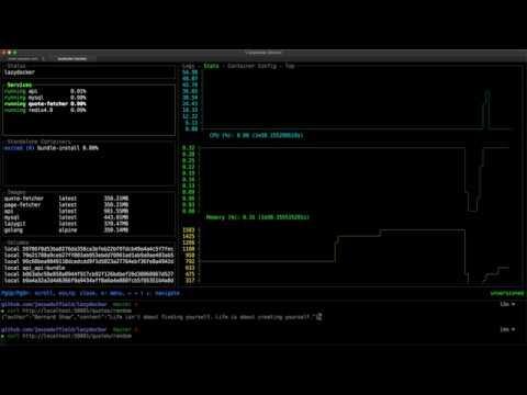 LazyDocker: New Docker And Docker Compose Terminal UI - Linux