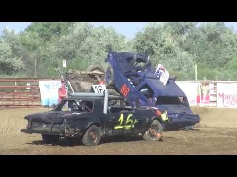 2018 Demolition Derby at Boulder County Fair