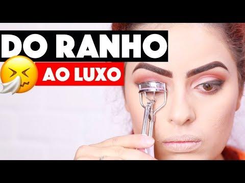 DO RANHO AO LUXO, MAKE QUE RECUPERA A CARA! | KIM ROSACUCA