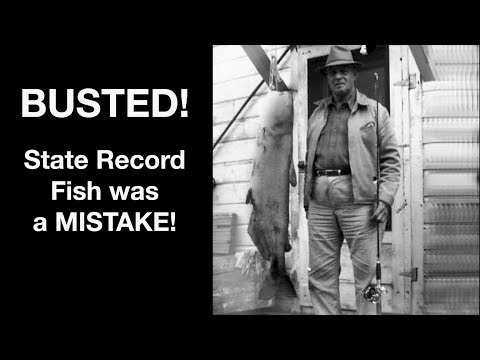 70 Year-old State Record Fish Was A MISTAKE