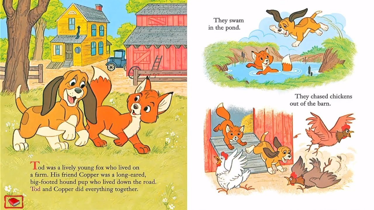 Fox And The Hound Book