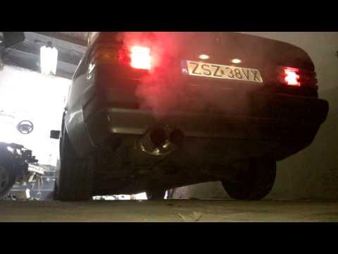 Mercedes 190E  M104 3.0-24V exhaust sound