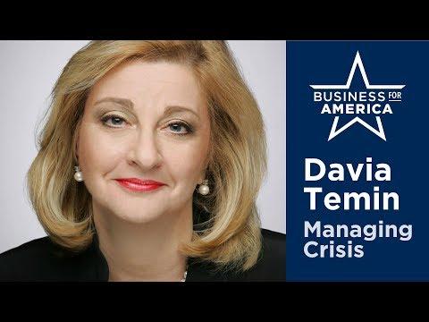 Davia Temin of Temin & Co. • Managing Crisis in an Era of Disruption