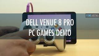 Dell Venue 8 Pro Real PC Gaming Test - FIFA 12, CoD MW & Portal