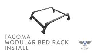 Victory 4x4 | Toyota Tacoma Modular Bed Rack Installation