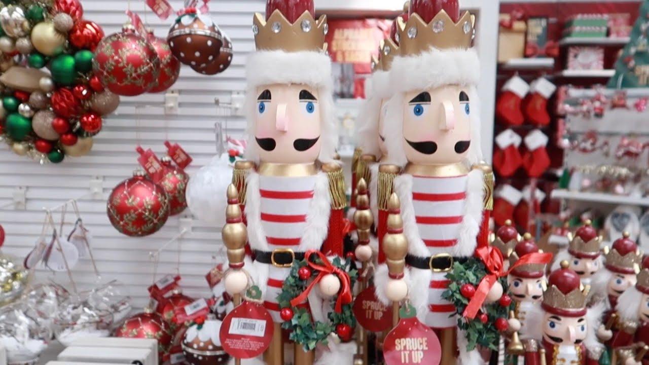 Matalan & Home Bargains Christmas Come Shop With Me Toni Interior
