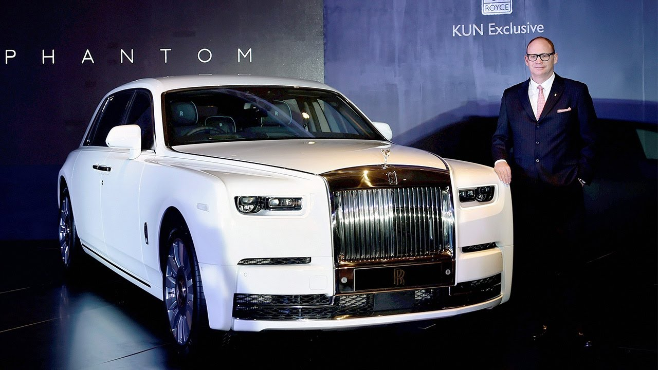 Rolls Royce Launches the 2018 Phantom VIII in India at ₹11 ...