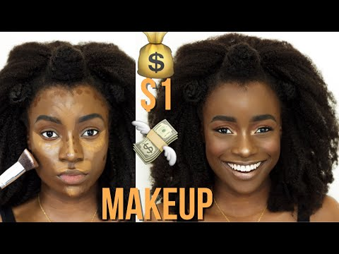 ONE DOLLAR MAKEUP SLAY!!! SHOP MISS A HAUL REVIEW