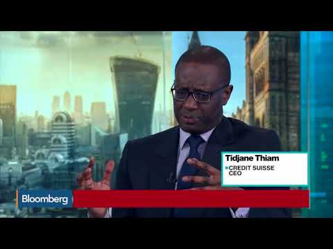 Bloomberg: Bitcoin and Blockchain - Credit Suisse CEO, Tidjane Thiam Interview