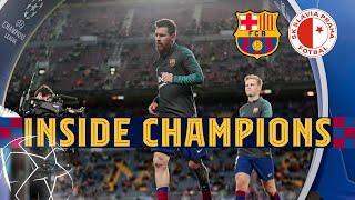 INSIDE CHAMPIONS | Barça 0-0 Slavia Prague, from behind the scenes