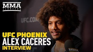 UFC Phoenix: Alex Caceres Gets Philosophical About MMA, Says He