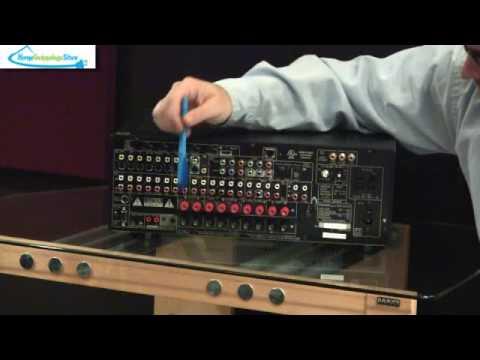 Denon AVR 4310CI - Home Theater Receiver Basics - YouTube