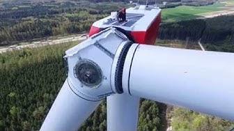 Errichtung des Windparks Jettingen - Scheppach/Zusamarshausen Feb. 2015 - Juni 2016