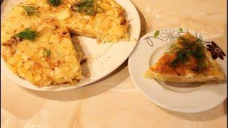 Что можно приготовить из яиц и картошки? Испанскою тортилью омлет. Когда в холодильнике пусто