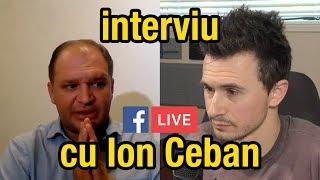 INTERVIU cu Ion Ceban | LIVE, LUNG și NEEDITAT