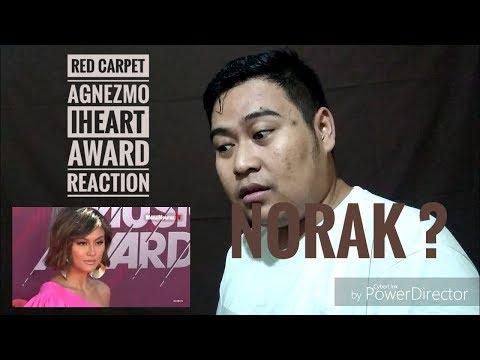 AGNEZMO RED CARPET IHEARTRADIO AWARDS REACTION ( NORAK ? )