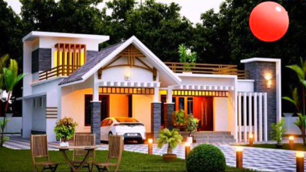 Top 20 kerala house model low cost beautiful kerala for Sedie design low cost