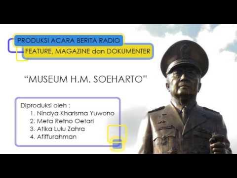 Dokumenter Radio Museum H.M. Soeharto
