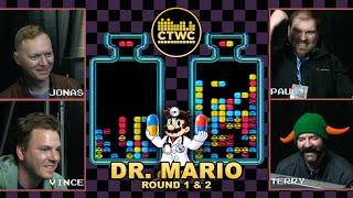Dr. Mario Championship Rds. 1-2 — Can Tetris Masters Dr. Mario?