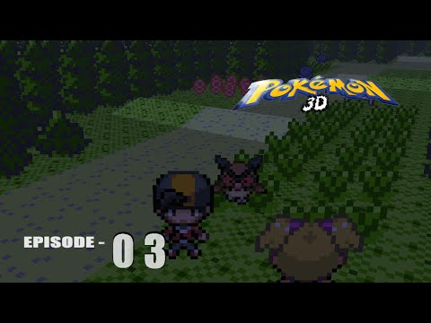 Lets play Pokemon 3D episode 3 - I caught a hoothoot ! ( unnecessary exclamation )