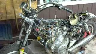 Re-wiring my CM 400 - YouTube | Cm400 Wiring Harness |  | YouTube