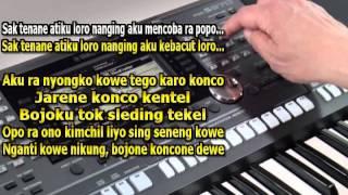 Bojo Ketikung NDX AKA Karaoke Keyboard Yamaha