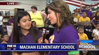 Back to school: Machan Elementary