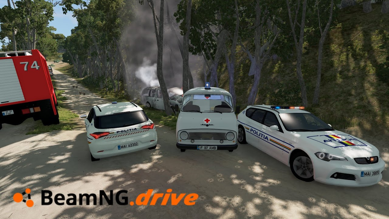 Police Intervention | BeamNG Drive Romania #1