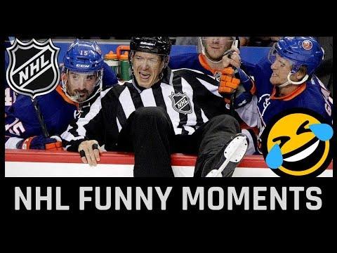 Funny NHL moments
