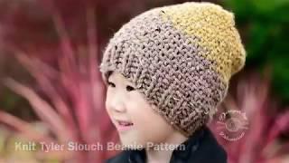 Knit Linen Stitch (in the round) Tutorial