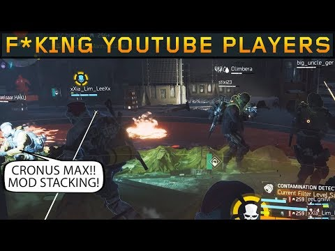 Youtube Players make the Experience Miserable! (The Division 1.8.3)