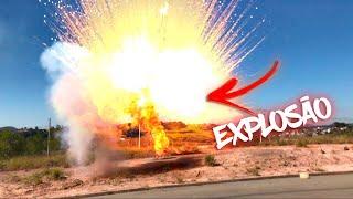 EXPLODI A MAIOR BOMBA! 😱