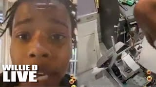 Is Clout That Important? Chicago Goon Films Himself Robbing An ATM While On Facebook Live!