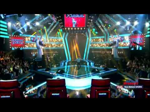 O Ses Çocuklar Mehmet Çağdaş Bozkurt Final Performansı