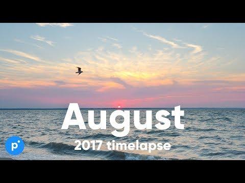 Харьков & Одесса Август 2017 таймлапс / Kharkiv & Odessa August 2017 timelapse compilation